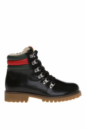 Ankle boots od Gucci Kids